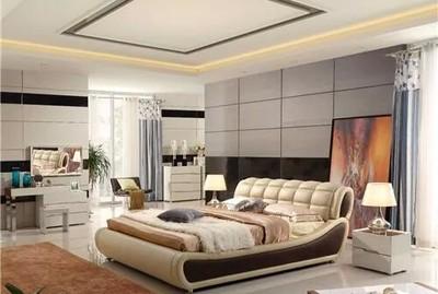 湘潭天元华雅花园 大卧室装修效果装修设计案例