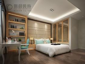 [鹏晨装饰]伟星长江之歌129平 现代风格装修效果图装修设计案例