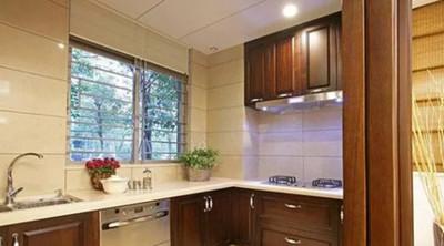 湘潭九华湖壹号 新中式厨房装修鉴赏装修设计案例