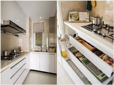 沈阳89㎡简约白色系三居室装修设计案例