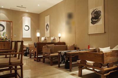 湘潭骏景豪廷 茶室装修效果 装修公司装修设计案例