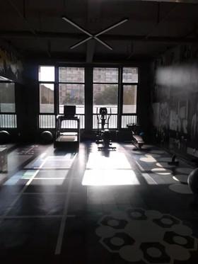 美的城健身房装修设计案例