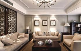 灰色调现代美式风格装修设计案例