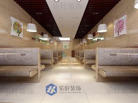 汇银广场豆浆店装修设计案例