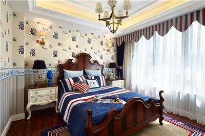 湘潭金芙蓉 欧式小卧室装修效果推荐装修设计案例