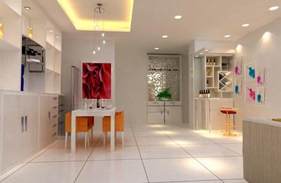 湘潭天元广场 餐厅装修效果图鉴赏装修设计案例