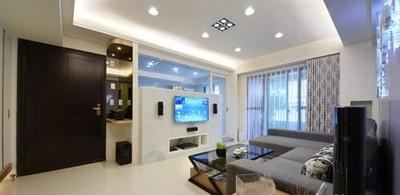 湘潭欣期福湾 95平三室两厅简约风格推荐 湘潭装修装修设计案例