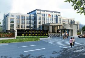 公安大樓裝修設計案例(li)