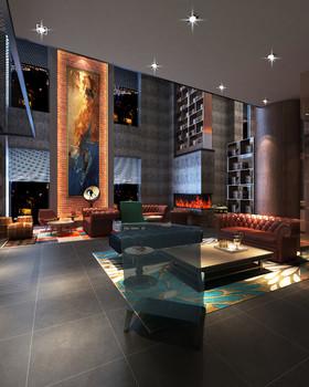上饒曼特寧假日酒店裝修設計案例