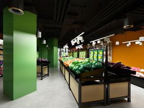 開放區超市裝修設計案例