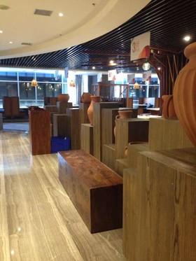 迎賓路餐廳裝修設計案例
