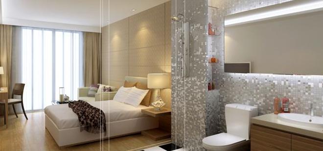 快捷酒店裝修設計中的客房布局