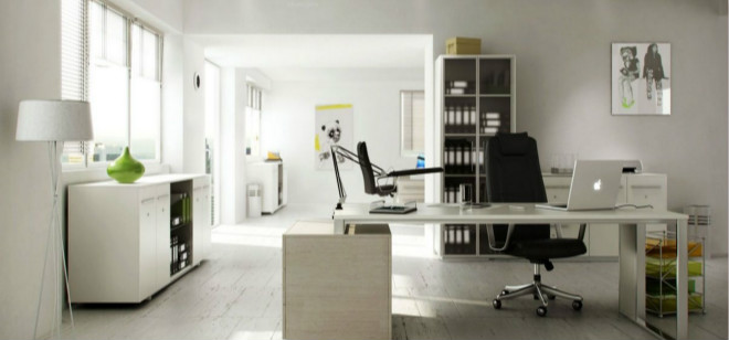 办公室装修设计之施工污染的处理方法