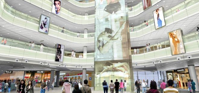 大型商场设计中的几个基本点