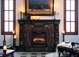 欧式壁炉尺寸 欧式壁炉效果图欣赏