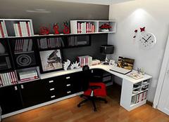 選購書房書柜多高最合適 空間搭配體現儒雅意氣