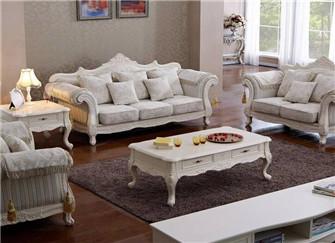 欧式布艺沙发怎么选择好 有哪些常见的方法呢