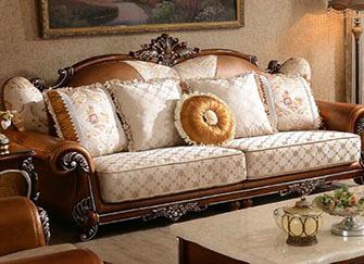 欧式布艺沙发这个品牌有哪些 欧式布艺沙发尺寸有哪些