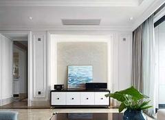 石膏线电视墙好吗 石膏线电视墙尺寸比例 石膏线电视墙大概多少钱