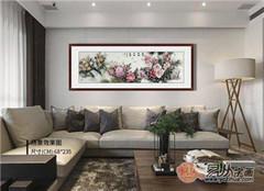 客廳掛名人書畫,精選當代三位名家花鳥畫代表作分享