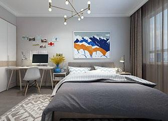 裝修臥室墻面用什么材料好 裝修臥室墻面什么顏色好看