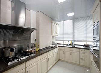厨房地面用什么砖好看 厨房地面渗水有什么办法处理 厨房顶部漏水是什么原因