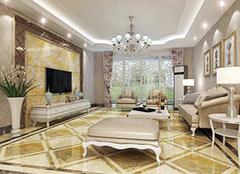 客廳地磚怎么鋪好看大氣 客廳地磚大小如何選擇 2020最流行的客廳瓷磚