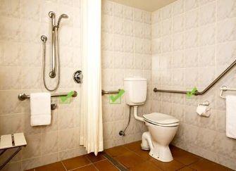 浴室扶手用计么材质的好 浴室扶手什么样的好 浴室扶手安装高度多少好