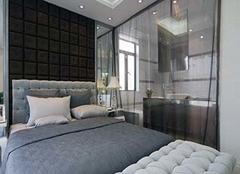 客廳和臥室透光隔斷墻 室內隔斷墻用什么材料好 臥室隔斷最簡單最實惠的方法