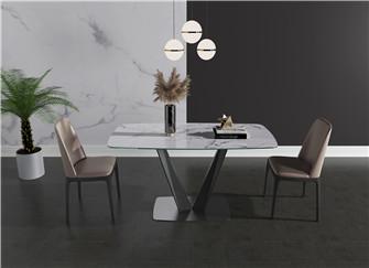 如何鑒定是不是巖板餐桌 如何挑選巖板餐桌 巖板餐桌選什么顏色
