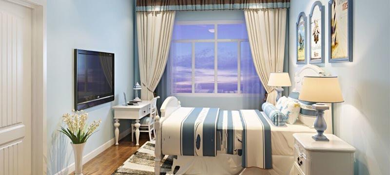 地中海風格,臥室案例展示