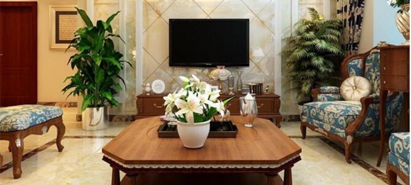歐式風格,客廳裝修案例展示
