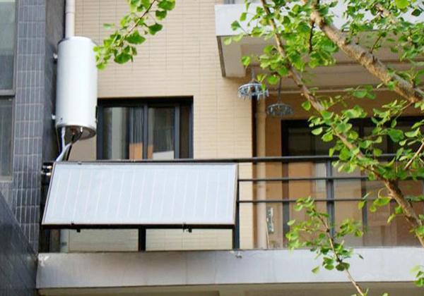 阳台壁挂太阳能热水器优缺点
