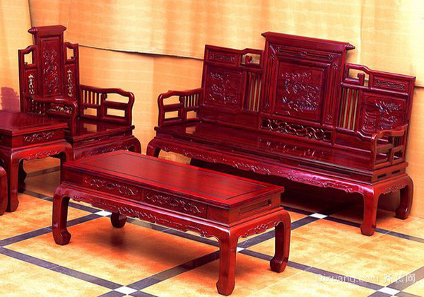 中式红木家具保养