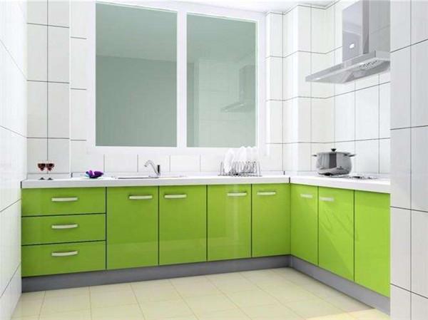 绿色橱柜门