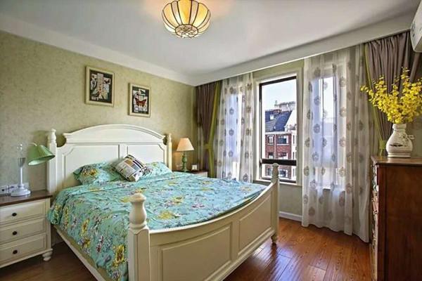 130㎡地中海风格卧室装修设计
