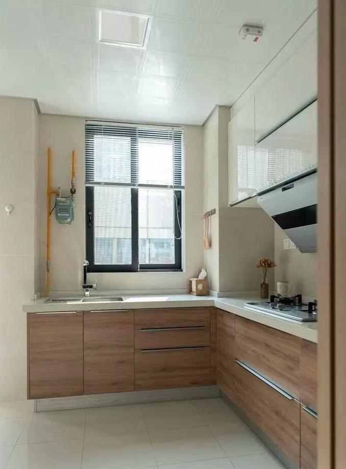 122㎡日式风格厨房装修设计