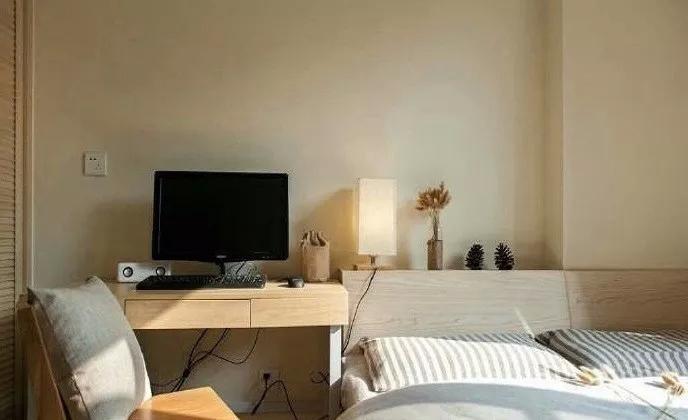 122㎡日式风格卧室装修设计