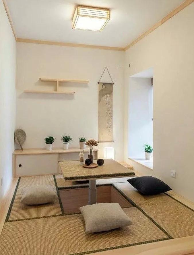 122㎡日式风格空间装修设计
