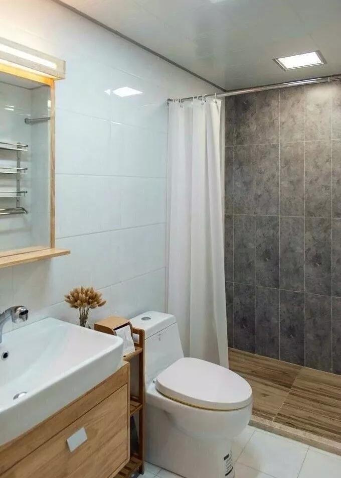 122㎡日式风格淋浴间装修设计