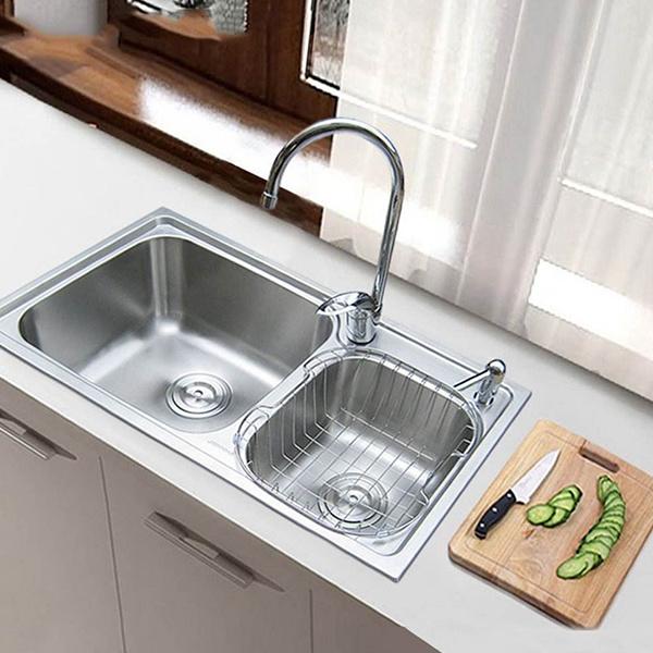 洗菜盆与台面如何密封