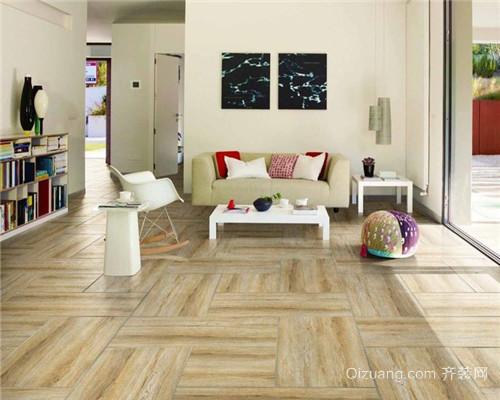 泗阳实木复合地板装修效果图2