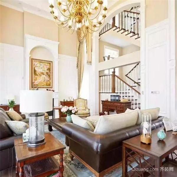 350平米美式独栋别墅客厅装修