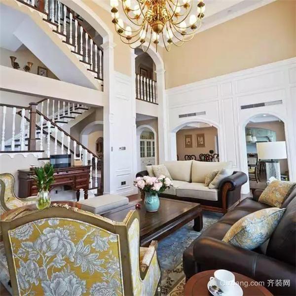 350平米美式独栋别墅装修设计