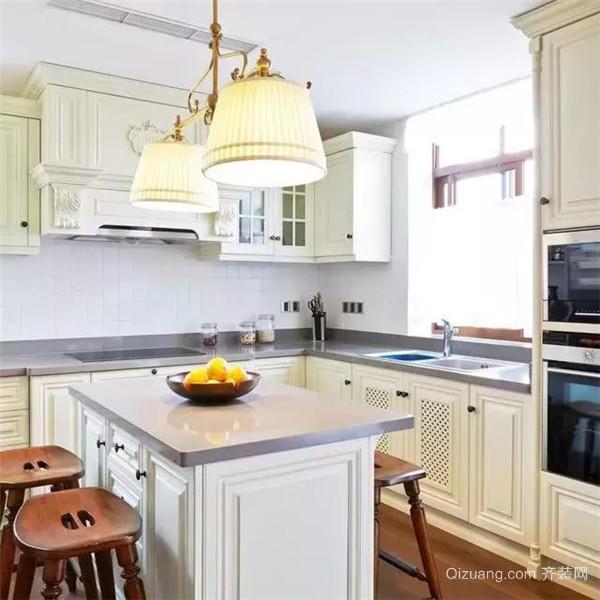 350平米美式独栋别墅厨房装修