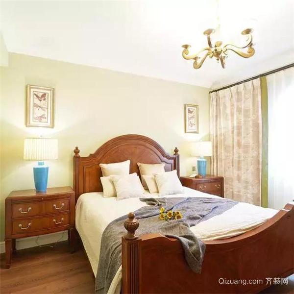 350平米美式独栋别墅客卧装修