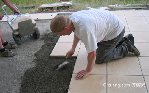 装修预算之泥瓦工程