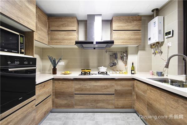 128㎡简约北欧风厨房设计