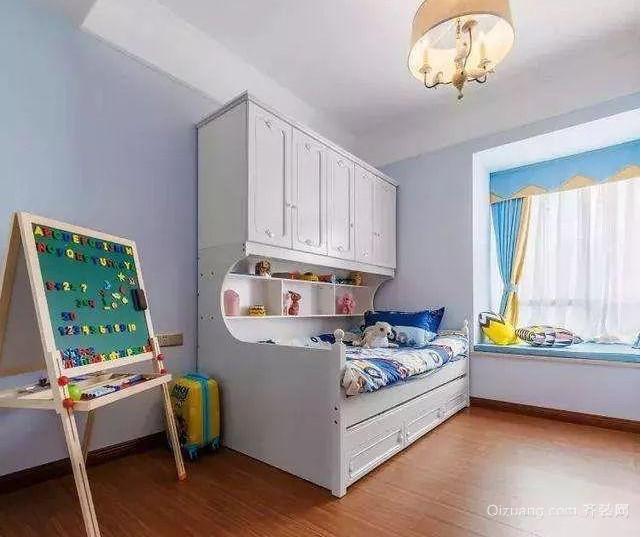 80㎡北欧风格儿童房装修