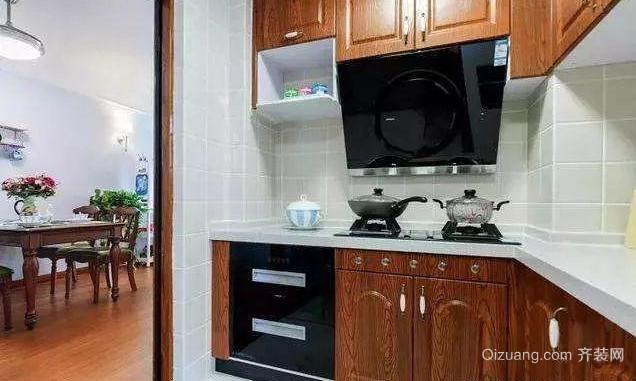 80㎡北欧风格厨房装修